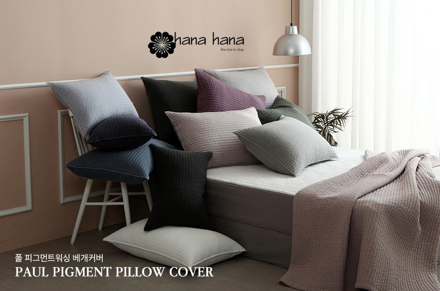 Áo gối cao cấp Hàn Quốc – CM Paul Pigment Pillow
