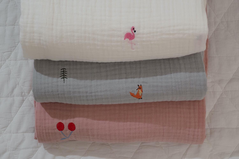 Chăn hè cao cấp Breeze Embroidery